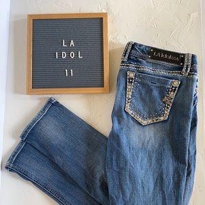 L.A. Idol Midrise Skinny Jeans. Size 11